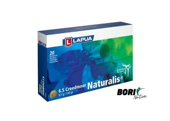 Balas_Lapua rifle_6.5Creedmoor_Naturalis_caza_bori_sport_nature_municion