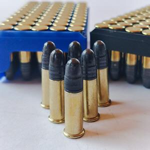 Munición calibre 22